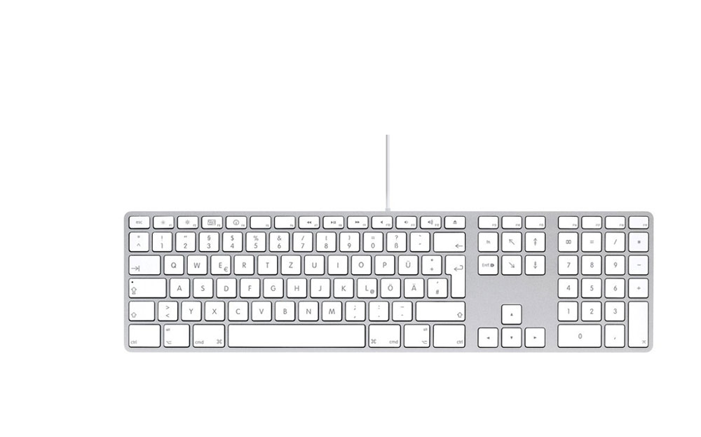 AppleKeyboard deutsch leihen